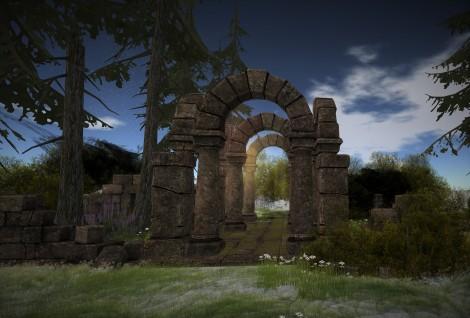 sun rays on the ruins.jpg